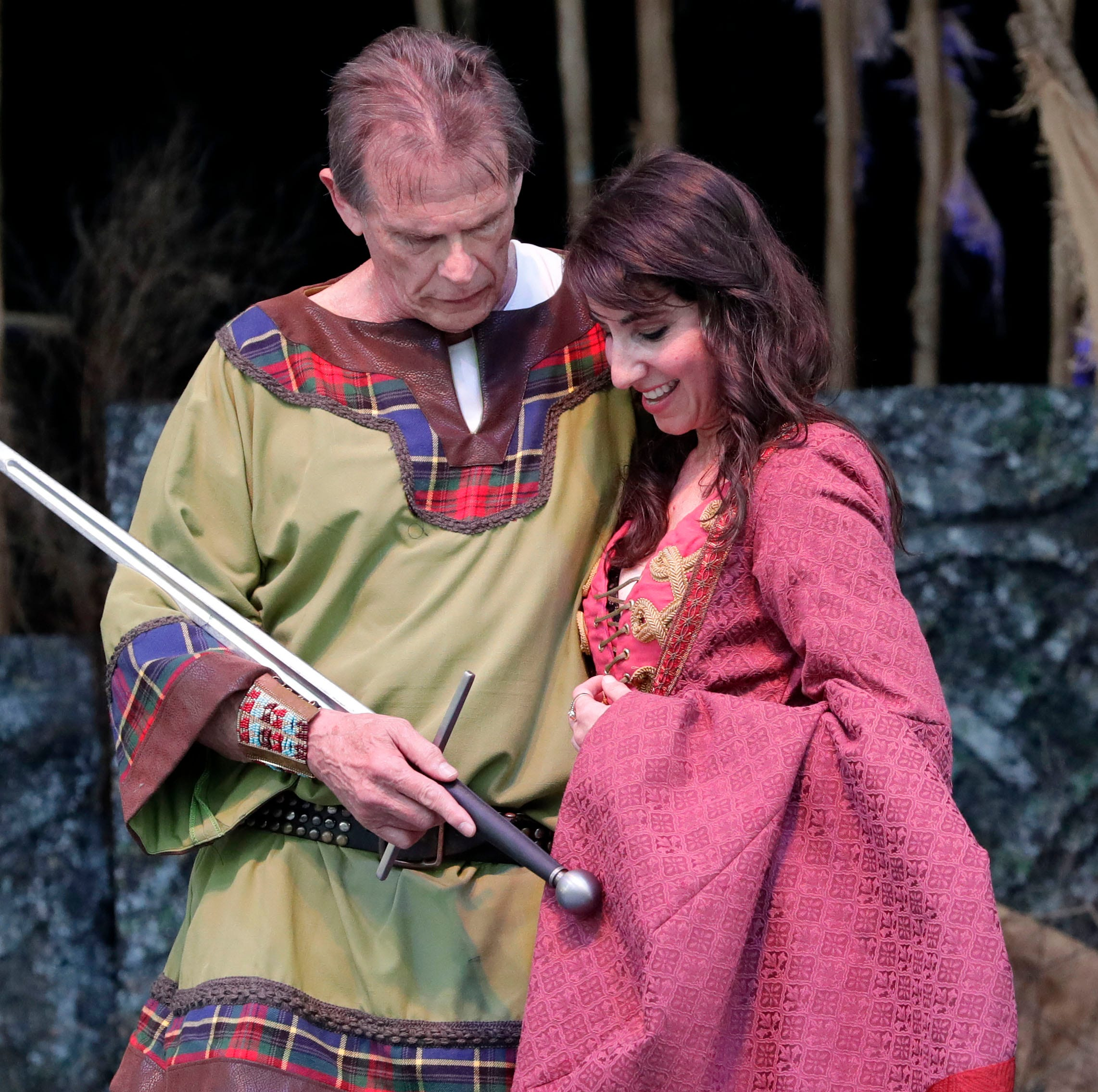 Toil and trouble, foul and fair, sound and fury all await Macbeth and his lady | Theater review