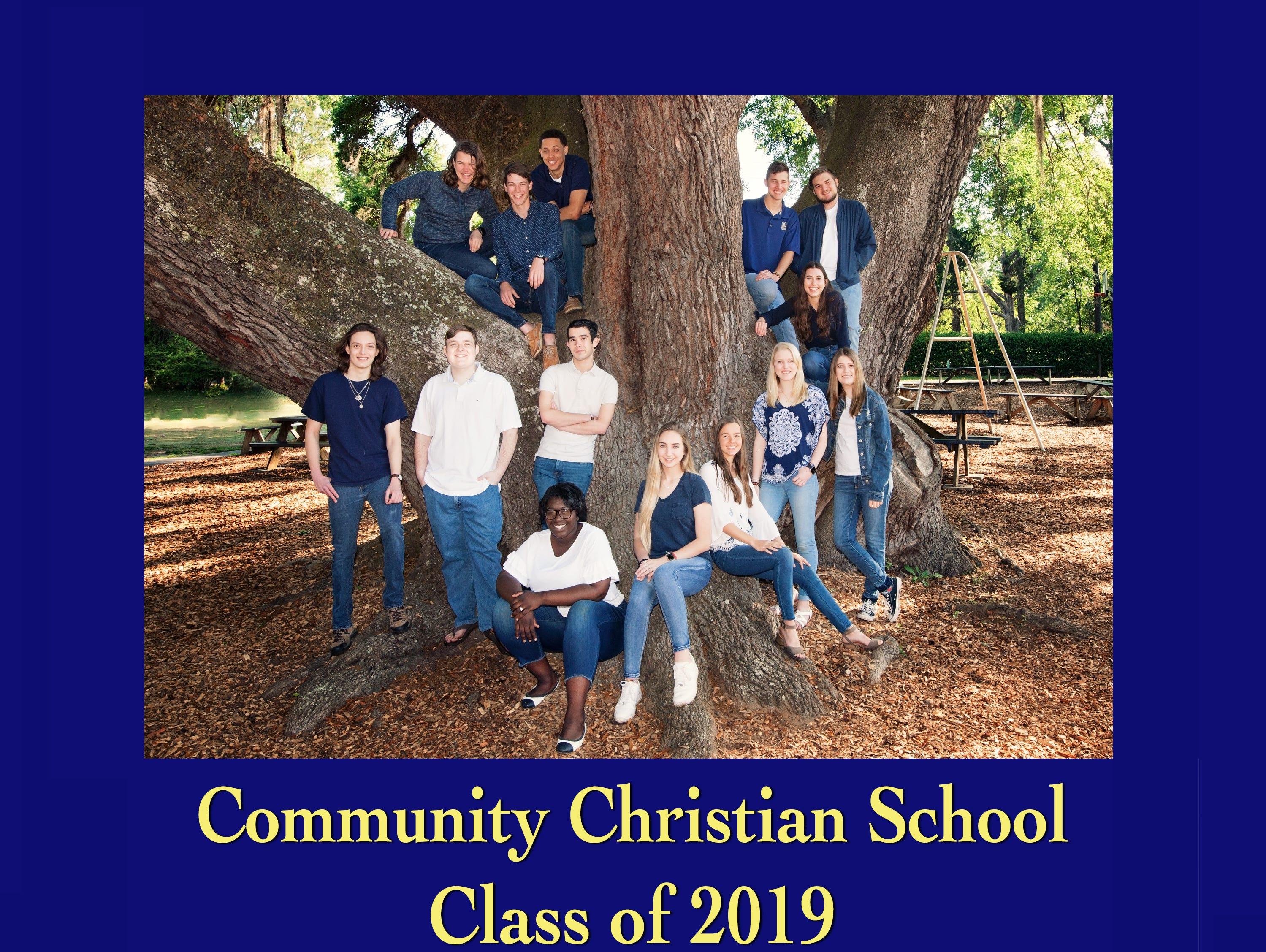 Community Christian School Class of 2019.