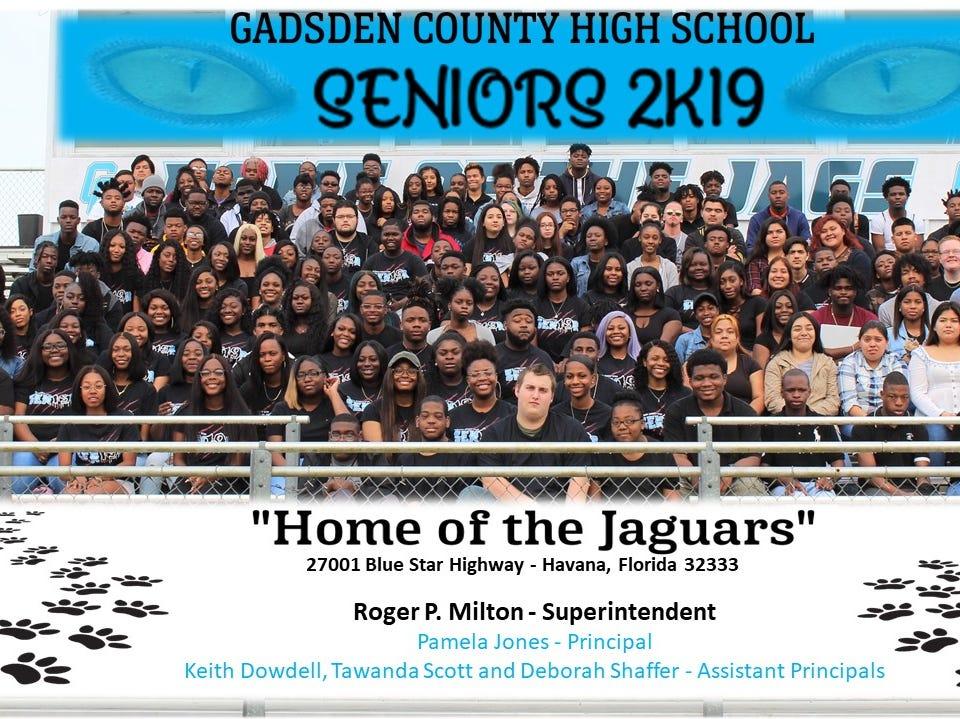 Gadsden County High School Class of 2019.