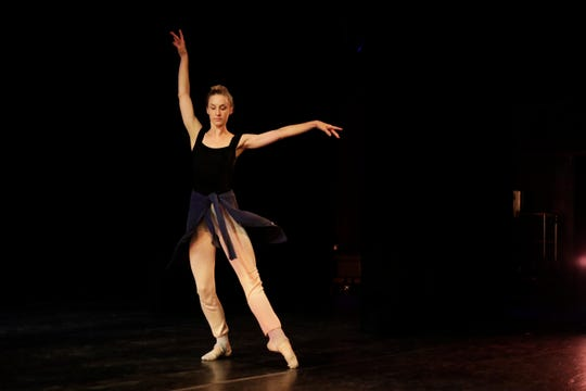Tallahassee Ballet dancer Hope Eltomi practices during a rehearsal for the 2018-2019 season finale show. Tallahassee Ballet opens its 2019-20 season with An Evening of Music and Dance on Friday, Sept. 6.