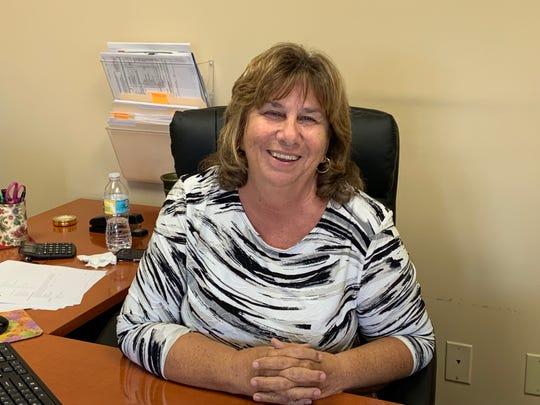 Patricia Cappella, owner of 4 Corners Insurance, in Stuart.