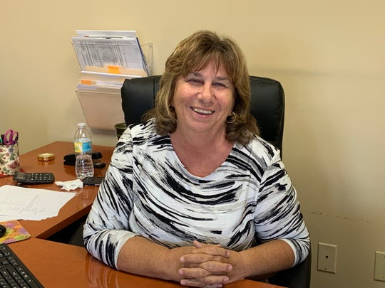 Patricia Cappella, owner of 4 Corners Insurance, in Stuart.