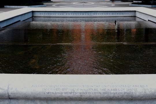 The National Law Enforcement Officers Memorial is located in Washington DC. The memorial is where those who died are remembered while providing a place where survivors can pay tribute to their loved ones.