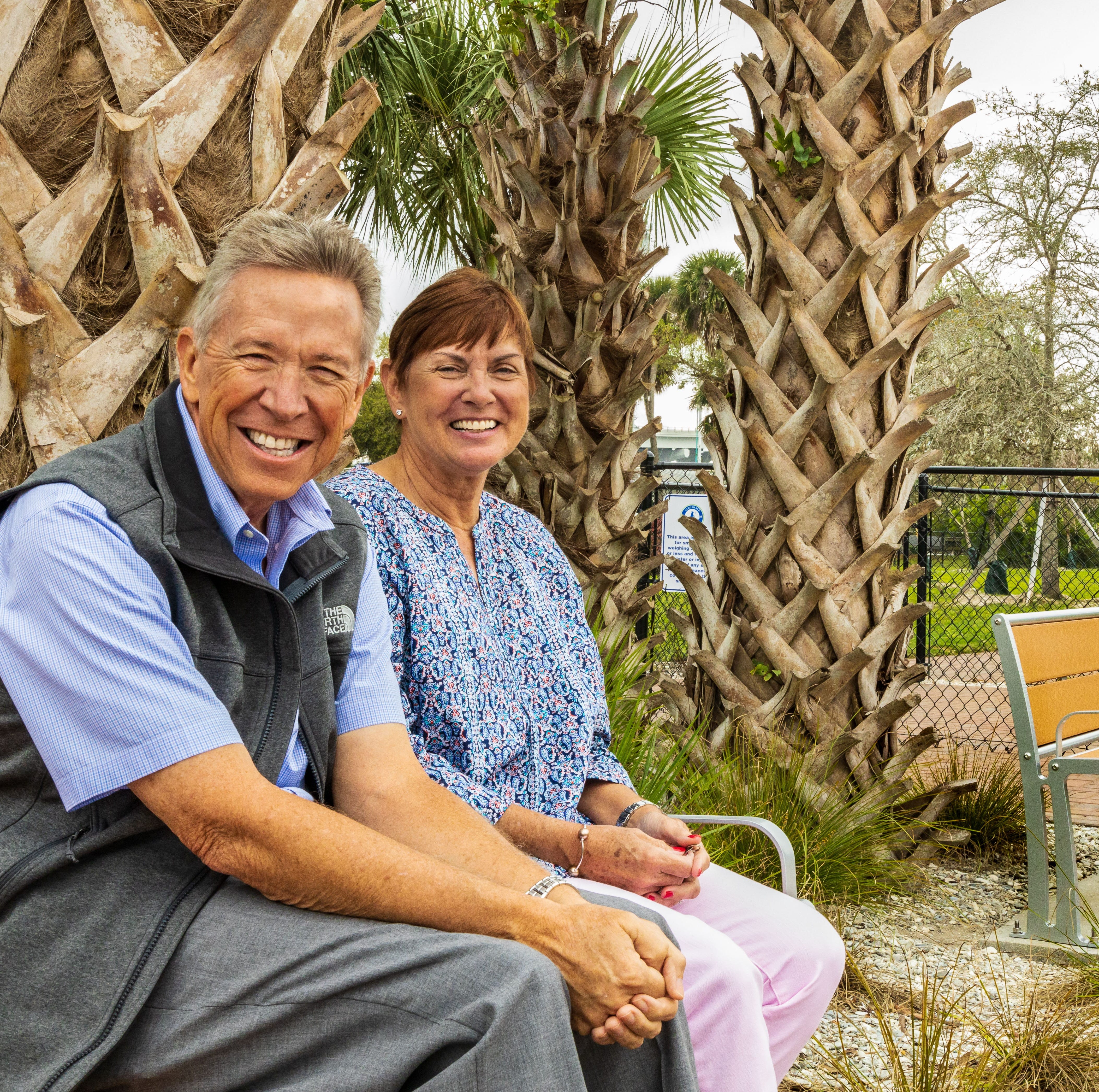Vero Beach Centennial: 'Generous donors' Kevin and Kathy Spittle help shape Vero Beach Dog Park