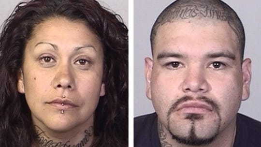 From left: Erica Jimenez and Eric Soto