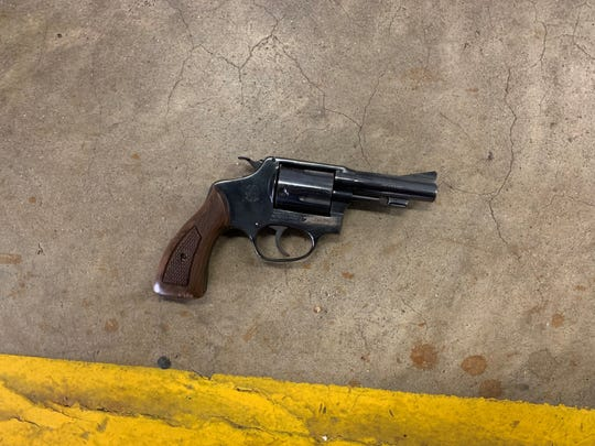 A firearm recovered during an arrest in Oxnard on Saturday.