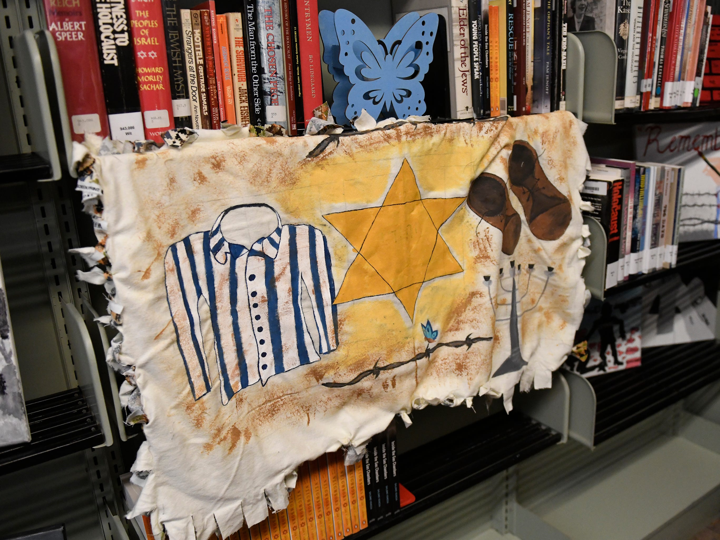 A dedication at Vineland High School was held to honor a permanent exhibit for Vineland Holocaust survivors in the school library on Wednesday, May 8, 2019.