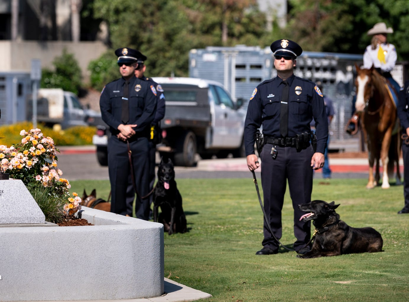 Tulare County Peace Officer Memorial Ceremony on Wednesday, May 8, 2019.