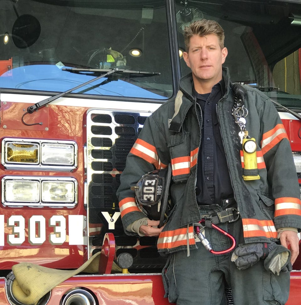 Yonkers firefighter is a PETA 2019 'Sexiest Vegan Next Door' finalist