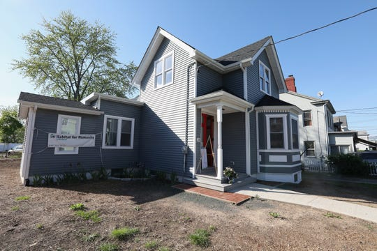 Habitat for Humanity of Rockland's latest house on Westside Ave. in Haverstraw May 8, 2019.