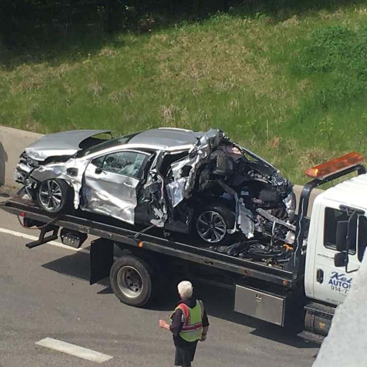 Route 9 reopens after Peekskill crashes involving 10 vehicles; people injured