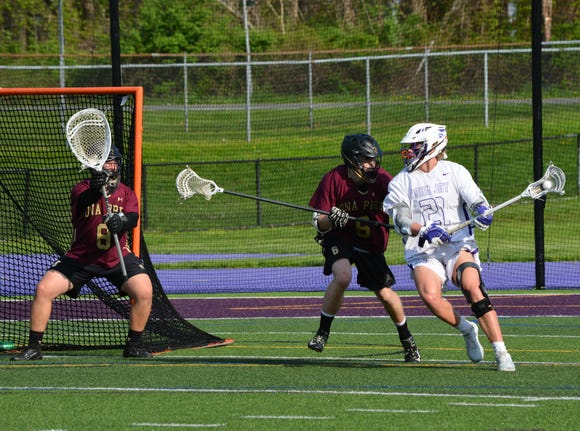 John Jay celebrated Senior Night with a resounding 13-8 win over Iona Prep. Dean Ford led the Indians with five goals and one assist. He's only been back on the field seven games after undergoing knee surgery in September.