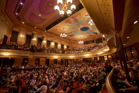 A sold-out crowd waits for a 2018 Sarah McLachlan to perform at the Grand Opera House in Wilmington, one of several concerts at which patrons of ticket resellers had problems.