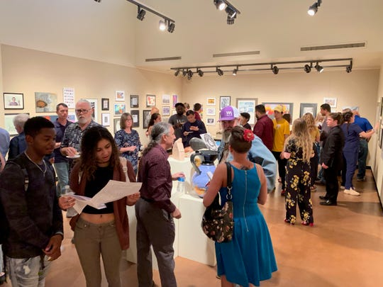 The Spring 2019 MSU Senior Exhibition opened Friday May 3 in the Juanita Harvey Art Gallery at MSU and runs through July 25.