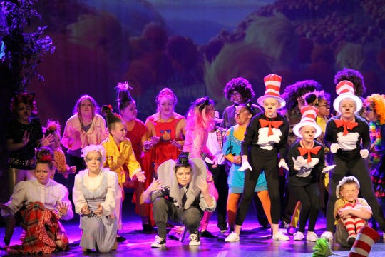 """""""Seussical Kids,"""" the Wichita Theatre's 40-minute show, features young, talented performers. Shows continue May 11 at 11 a.m., 2 p.m. and 5 p.m."""