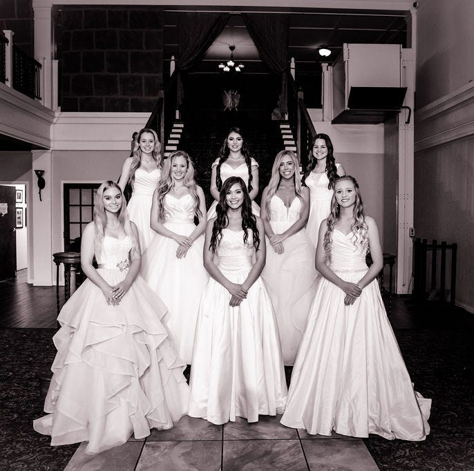 91st annual Junior Forum Debutante presentation sparkles