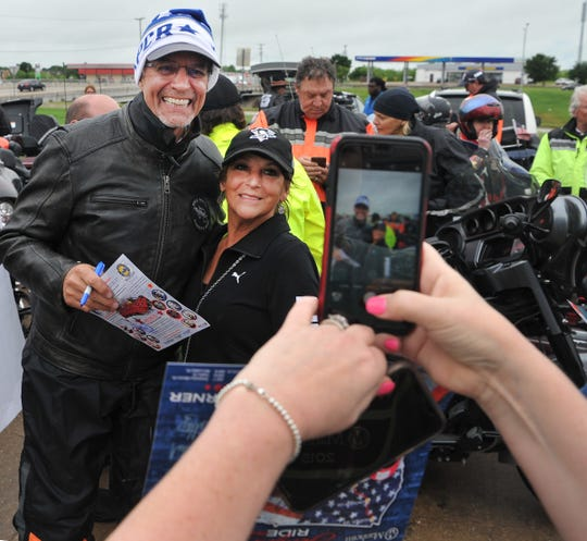 Kyle Petty and his Charity Ride stop at the Wichita Falls Loves Truck Stop Wednesday morning to refuel and greet fans. According to a release, Petty began his charity ride 25-years-ago by combining his love for helping others with motorcycles, according to a release.
