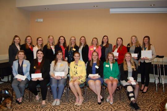 AWA scholarship winners