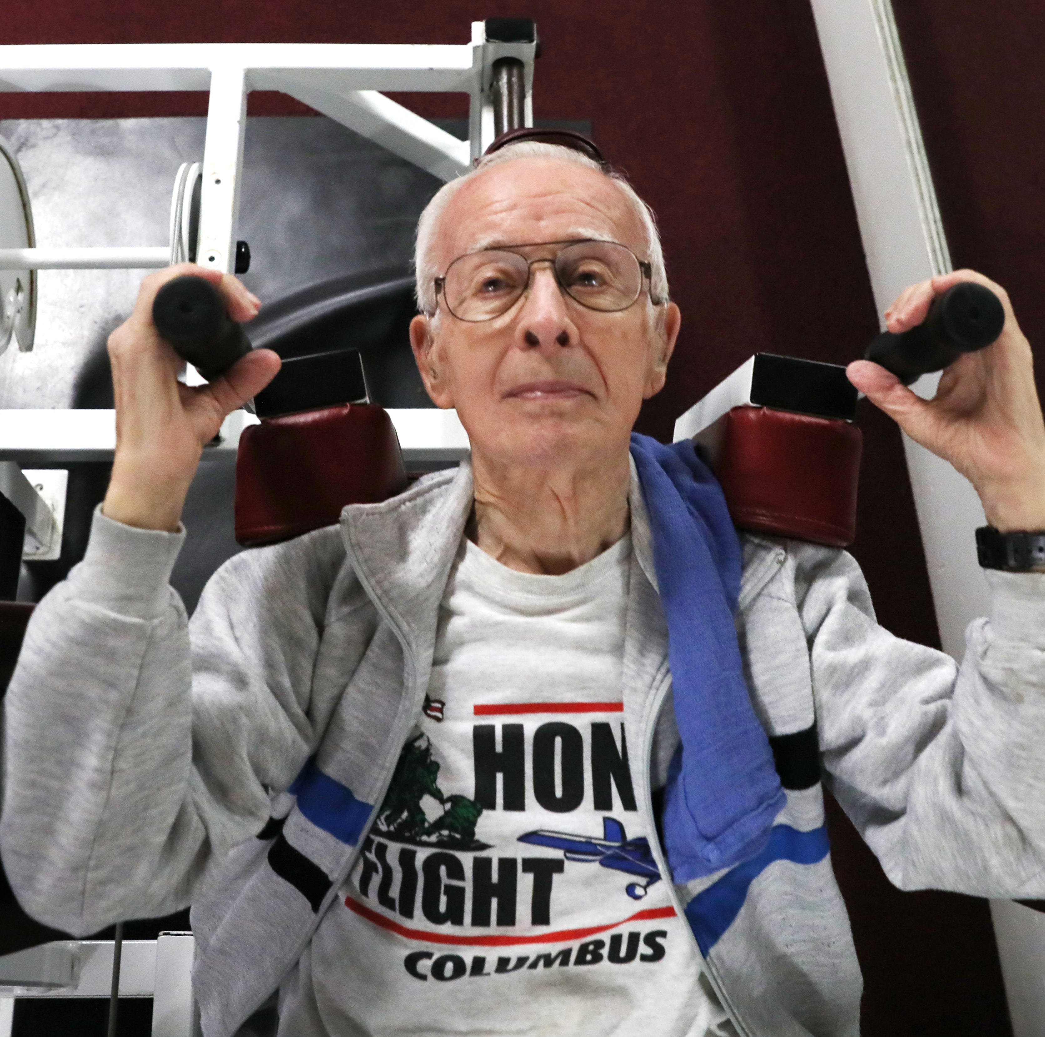 The elder of inspiration: 94-year-old setting the example