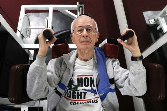 Joe Pishner survived World War II and cancer. Today is writing a book and  works out three times to help inspires others.