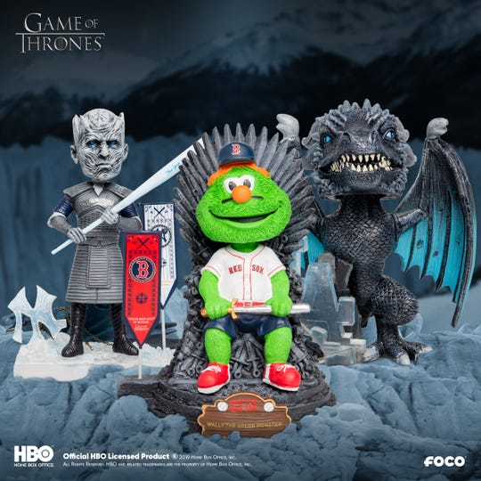The way the real 'Game of Thrones' contenders are behaving, you could make an argument for installing Wally the Green Monster on the Iron Throne.