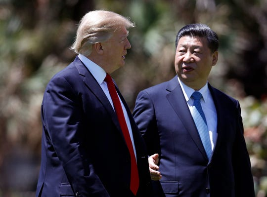 IMG TRUMP with President of China