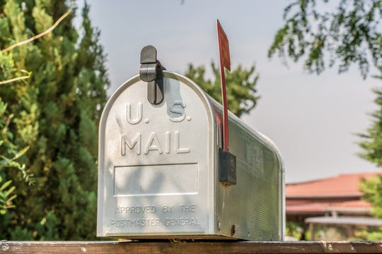 Mailbox file photo.