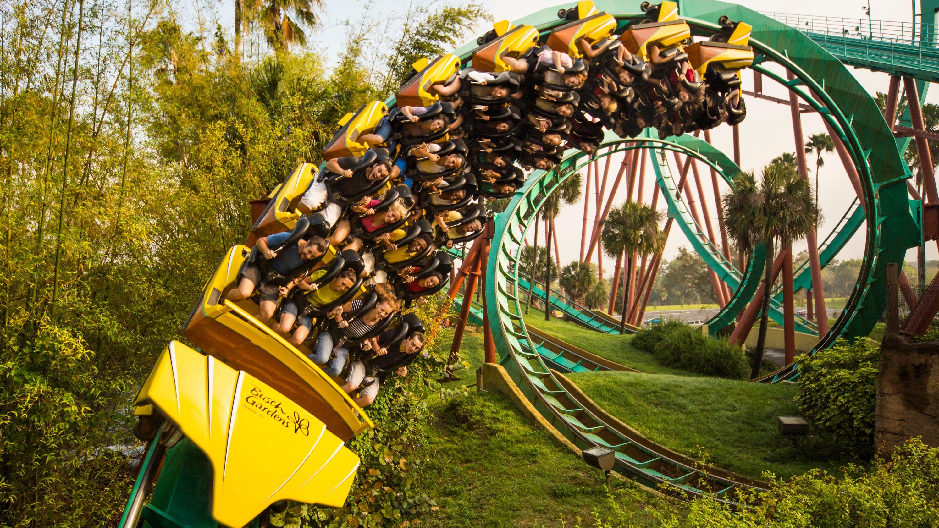 Resultado de imagem para Busch gardens