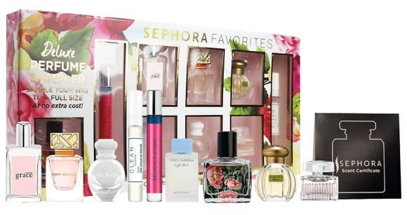 Best gifts for women 2019: Sephora Favorites Deluxe Perfume Sampler