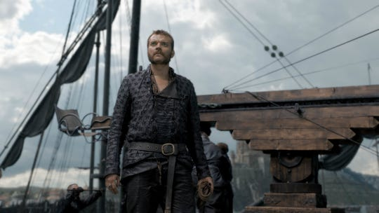 "Pilou Asbaek as Euron Greyjoy on ""Game of Thrones."""