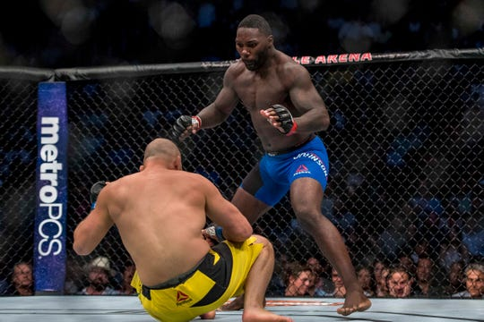 Former UFC fighter Anthony Johnson arrested for alleged battery