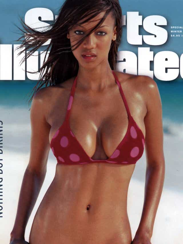 Tyra Banks Sports Illustrated Swimsuit Issue Cover Is Sizzling