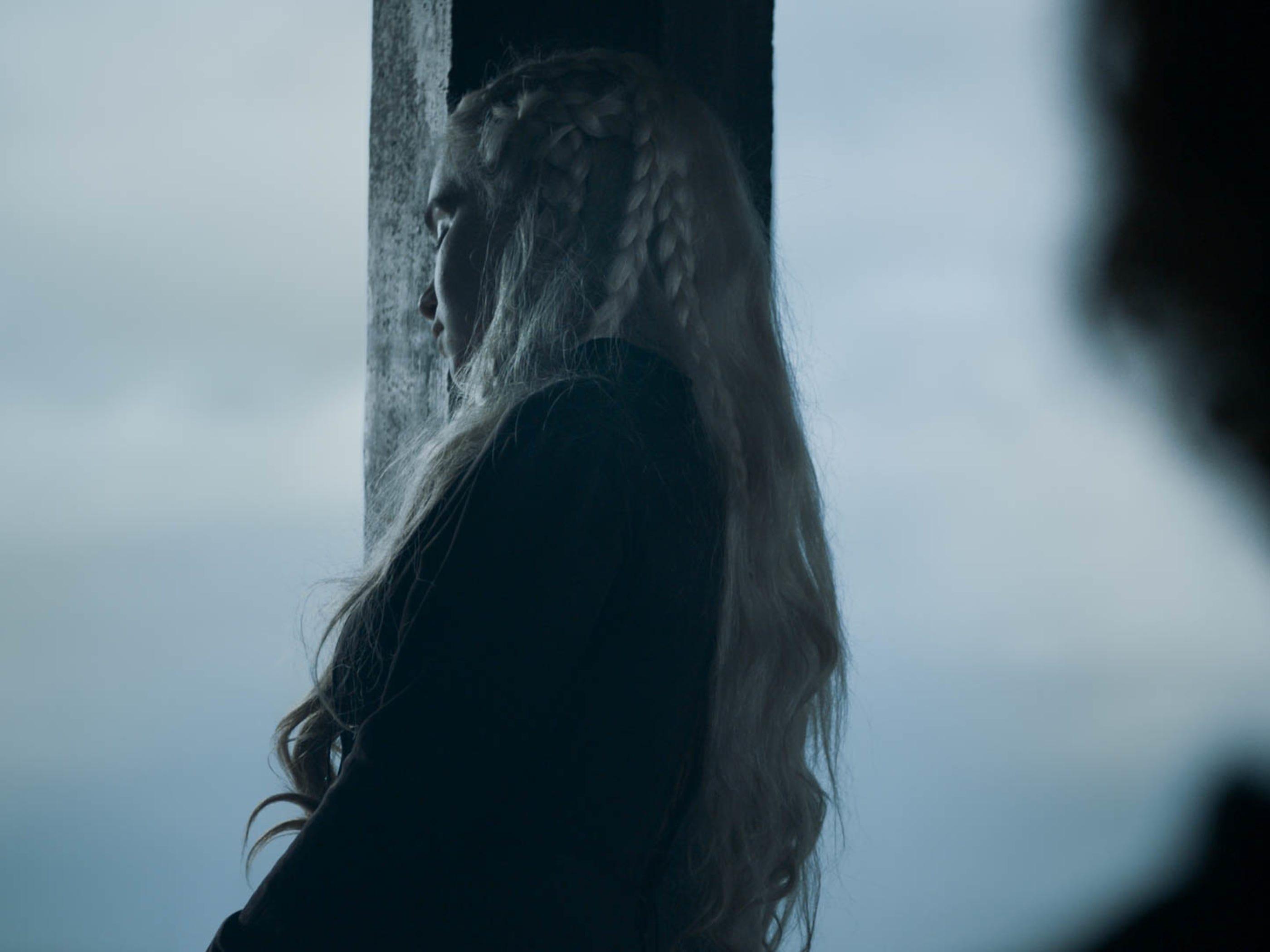 "Emilia Clarke as Daenerys Targaryen on ""Game of Thrones"""
