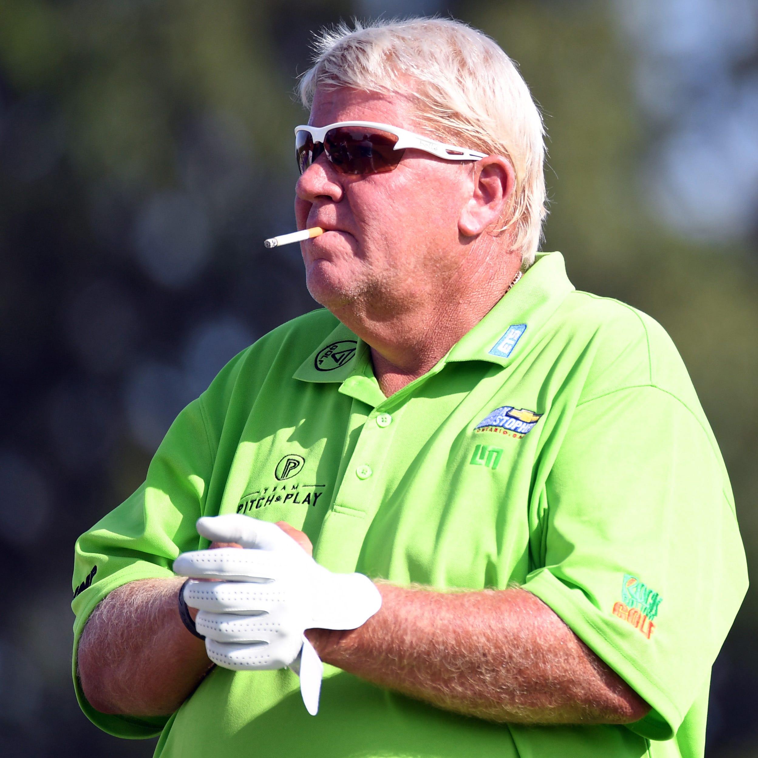 John Daly's cart ride at PGA Championship won't start a traffic jam
