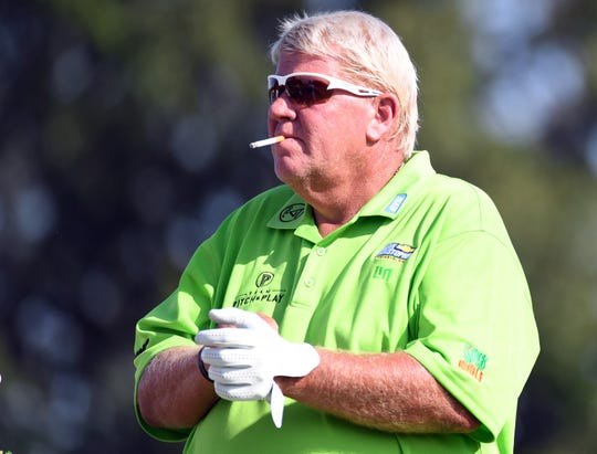 John Daly will be the first player to ride a cart in a major championship since Casey Martin in the U.S. Open in 1998 and 2012.