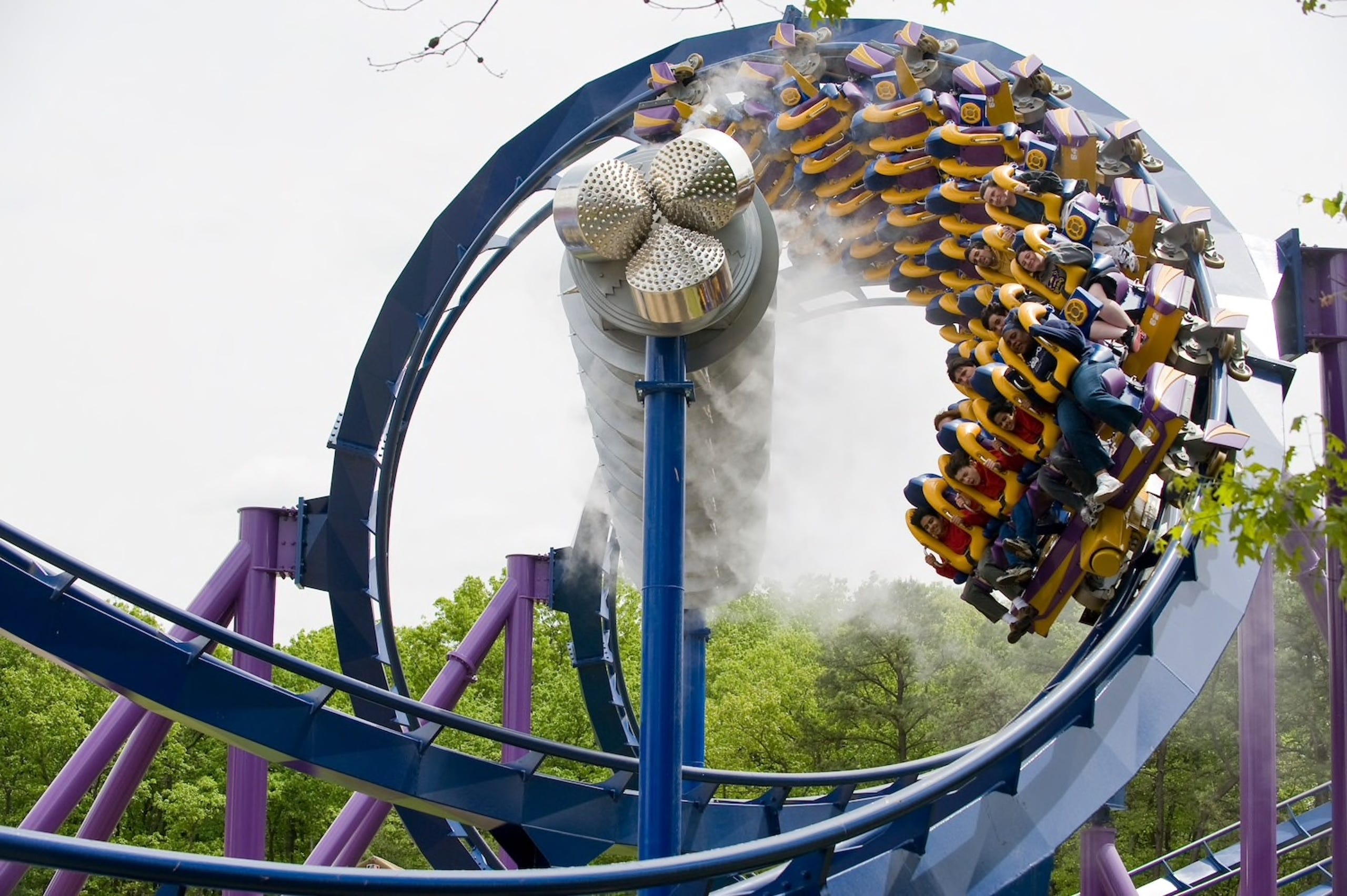Roller Coasters With The Most Inversions