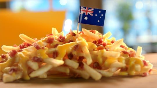 Cheesy Bacon Fries from Australia.