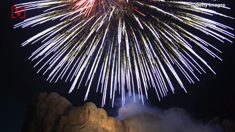 Trump praises return of fireworks to Mount Rushmore for July 4th