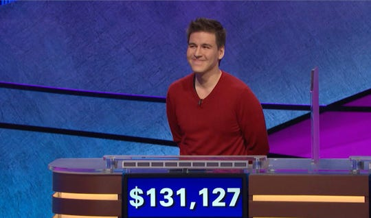 James Holzhauer holds the all-time single-game record for amount won on 'Jeopardy!' - $ 131,127