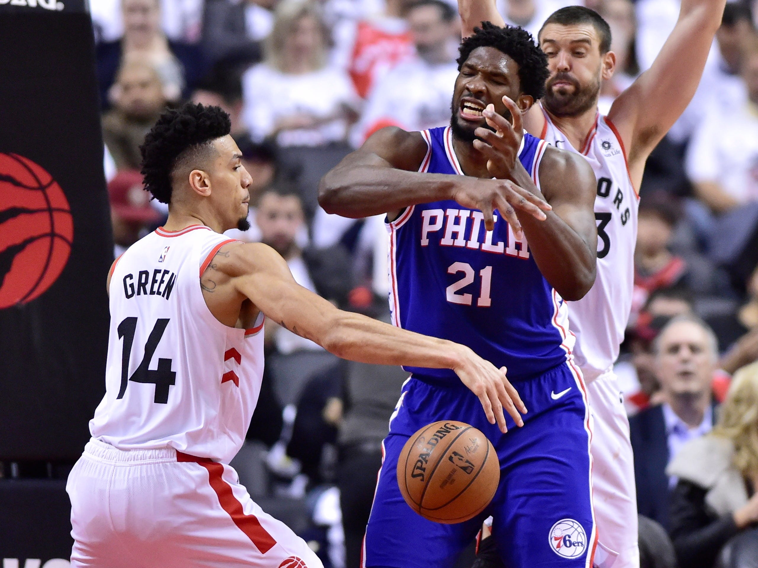 Shaquille O'Neal and Charles Barkley criticize Joel Embiid over approach, play in Game 5