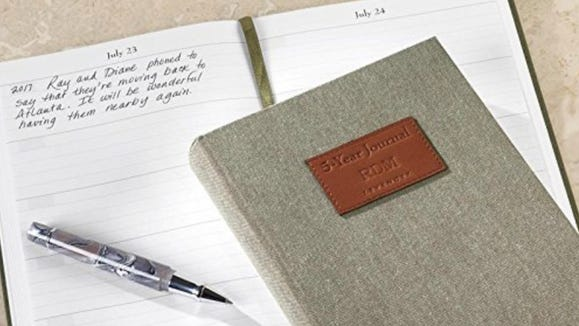 Best gifts for women 2019: Levenger 5-year journal