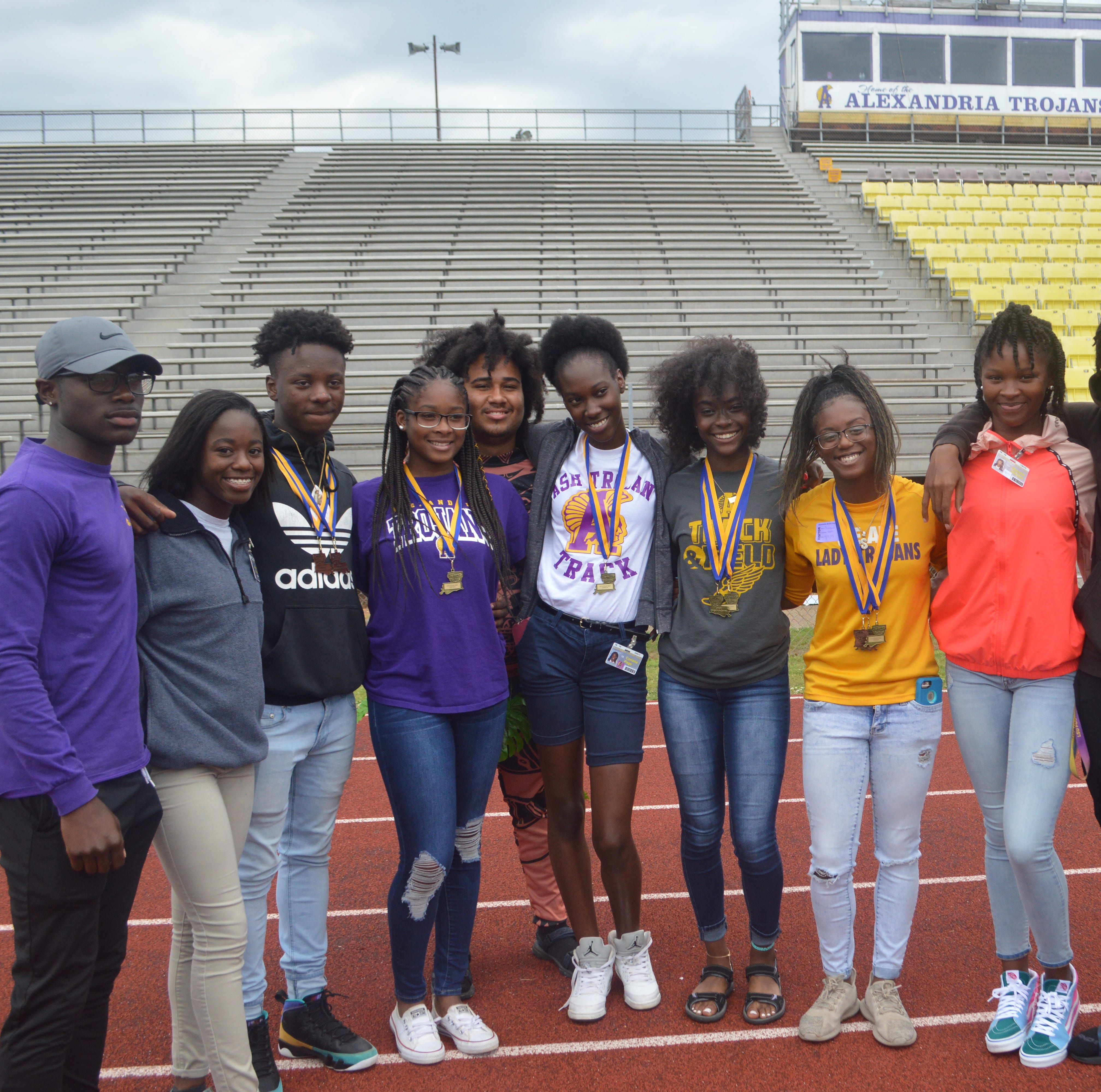 ASH track and field setting foundation with pair of top five team finishes at state