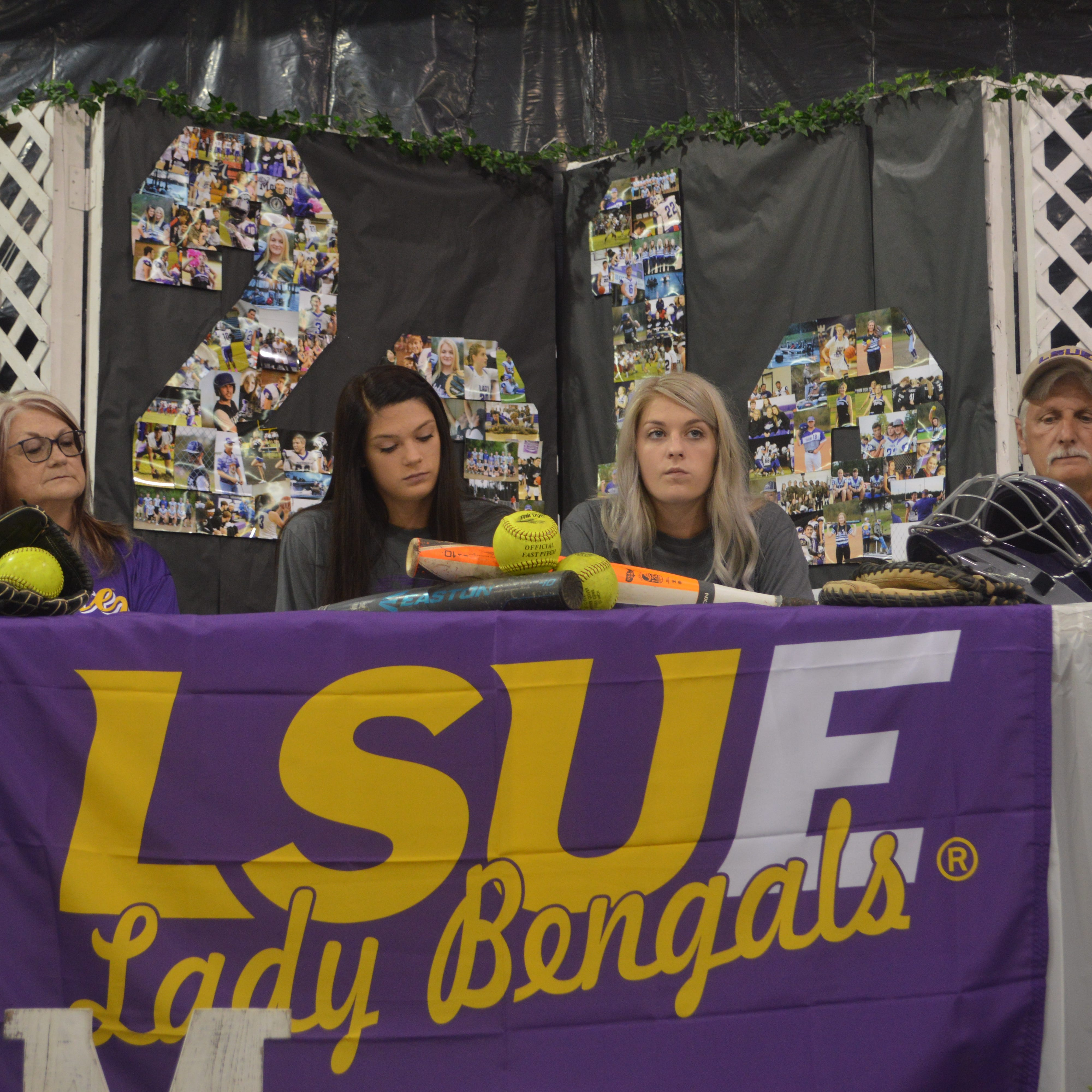 Montgomery's twin Tigers sign with LSUE
