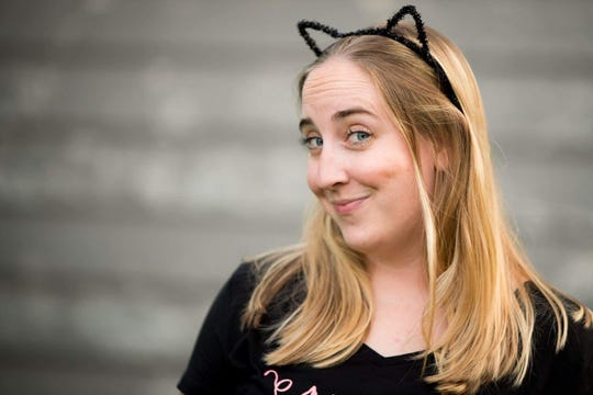 Leah Enking, co-owner of Pawffee Shop, the cat cafe coming to Grand Chute.