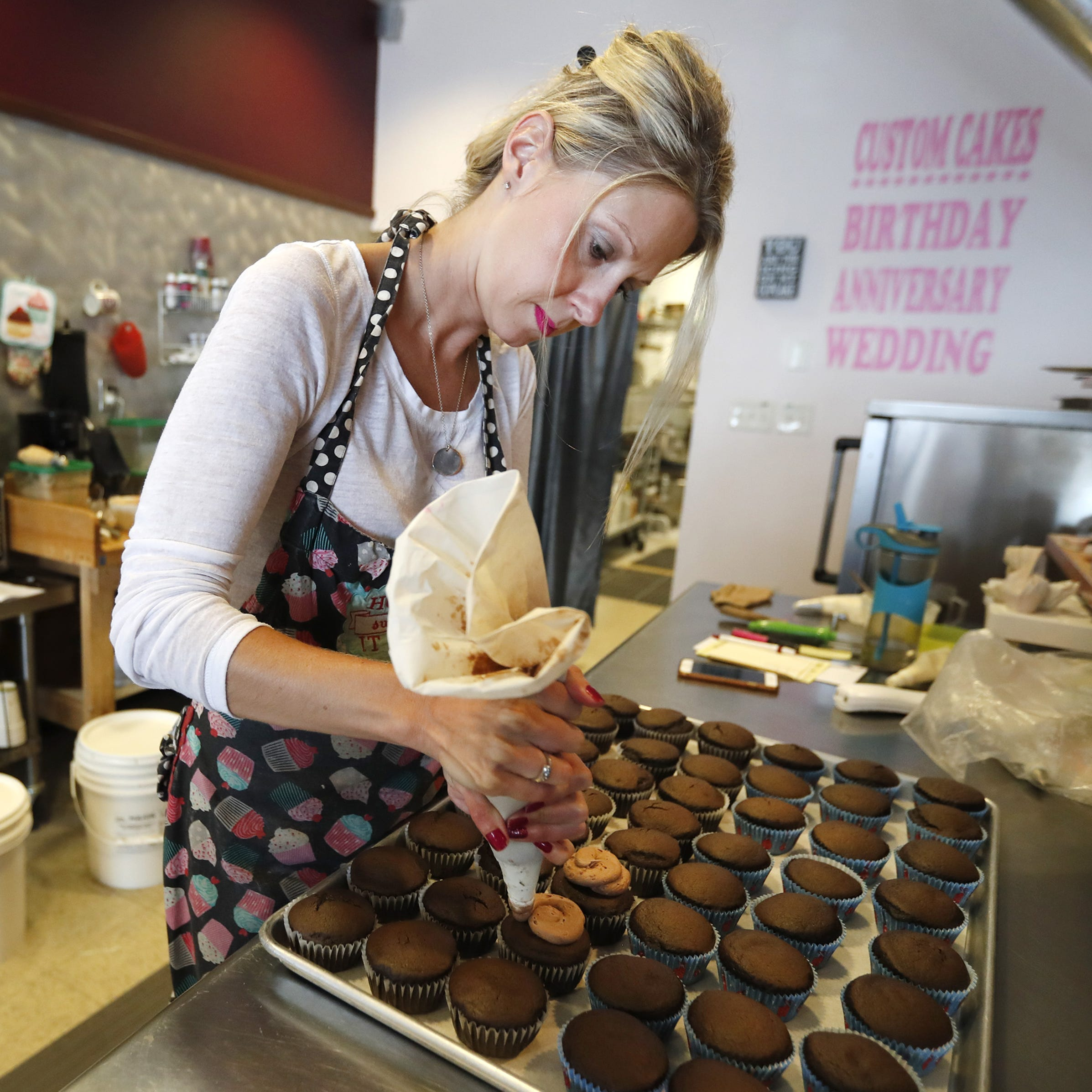 Free cupcakes! It's true. Rebecca's Sweets Boutique is giving out treats Friday