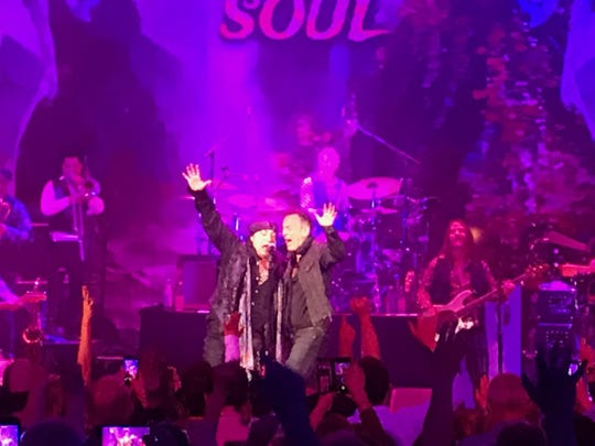 Bruce Springsteen and Little Steven and the Disciples of Soul May 8, 2019 at the Paramount Theatre in Asbury Park