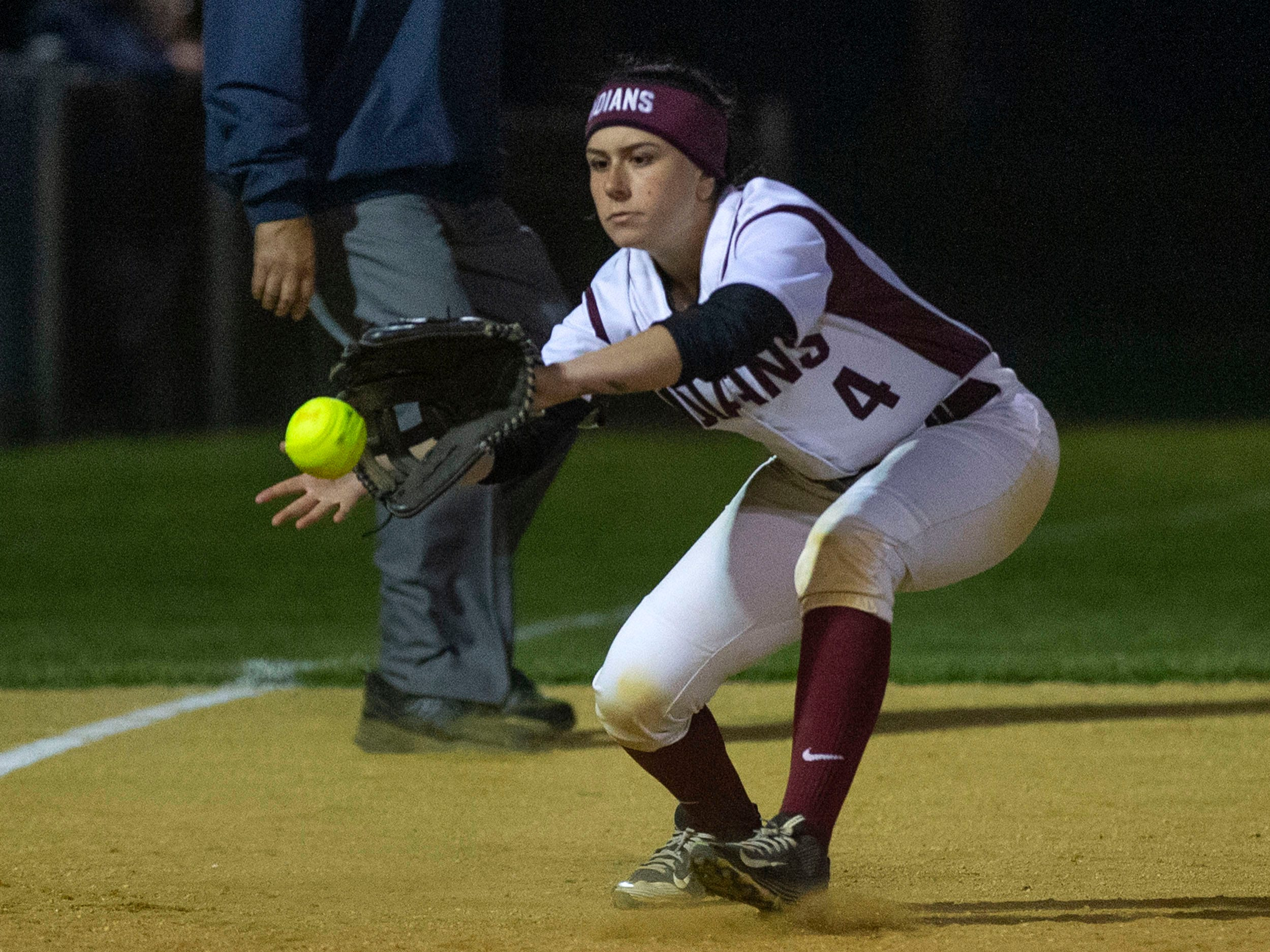 Brick Memorial softball defeats Toms River South 9-1 in Ocean County Championship game in Toms River on May 4, 2019.