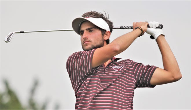 Argentina native Clemente Yanes had a solid season for the McMurry men's golf team this year.
