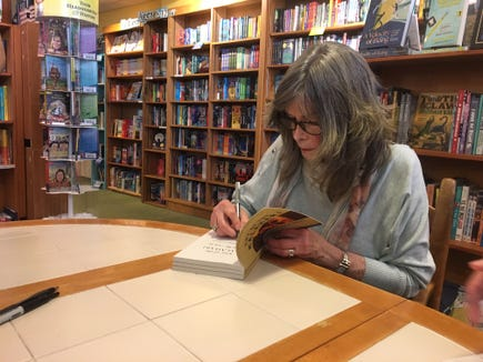 Author Delia Owens signs books at Malaprop's Bookstore and Cafe May 8.
