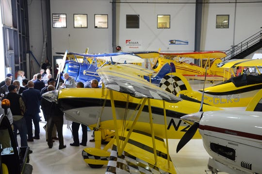 Officials announced a $20 million expansion for Waco Aircraft at W.K. Kellogg Airport in Battle Creek.